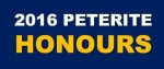PETERITE HONOURS 2016