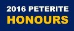 PETERITE HONOURS 2016