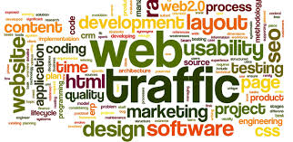 Website traffic increases dramatically